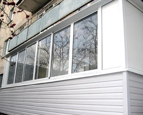 отделка балконов фото воронеж